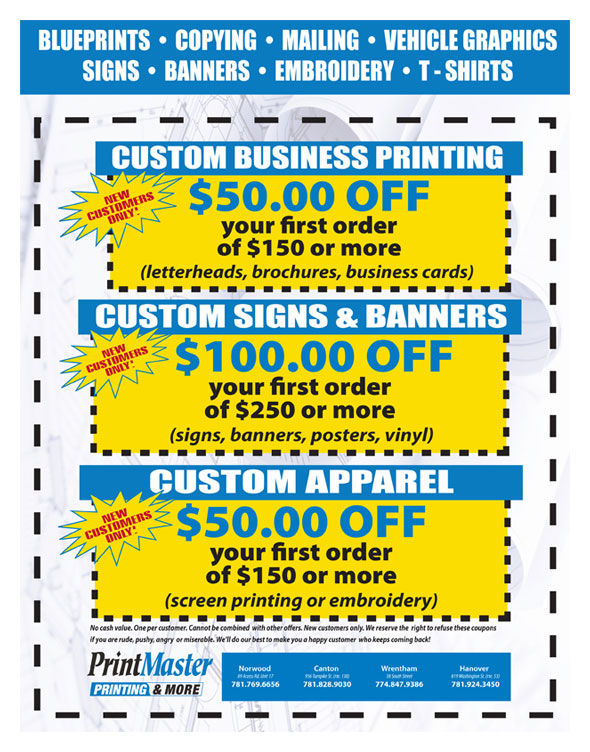Norwood Printing Coupon