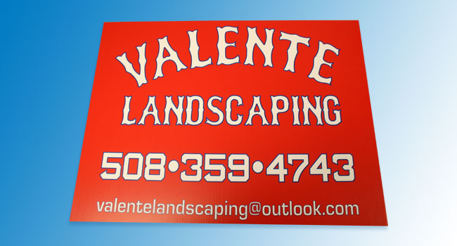 Custom Yard Sign Quincy, MA